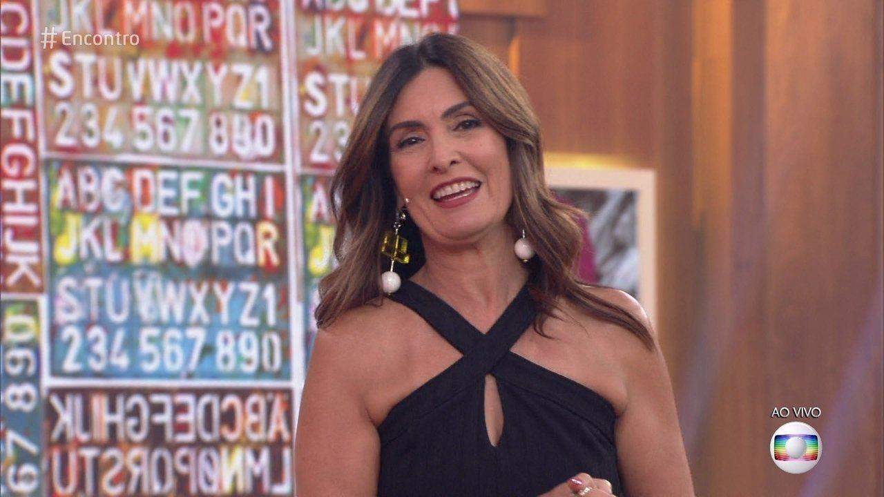 Fátima Bernardes aconselha rapaz que se assumiu gay no Encontro