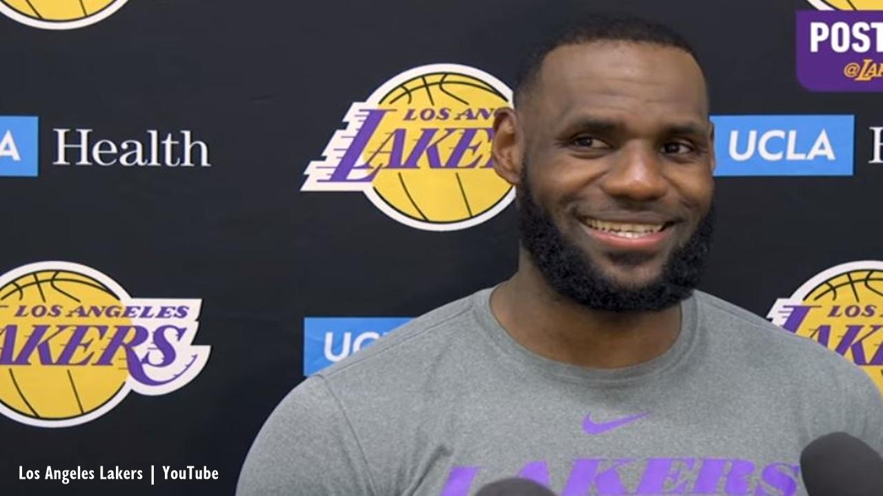 LeBron James tweets about Zion Williamson's Nike shoe blowout, fans react