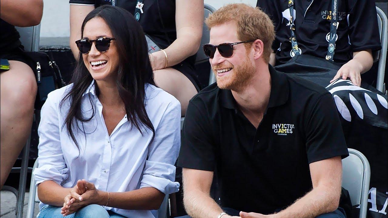 Prince Harry makes a joke about Meghan Markle's pregnancy