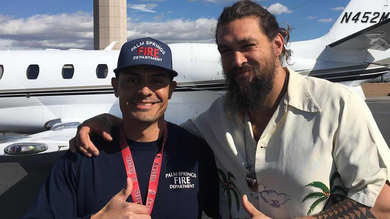 Avião que levava ator Jason Momoa é obrigado a fazer pouso de emergência