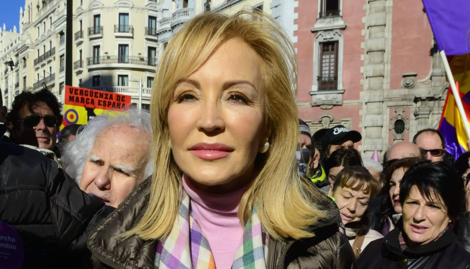 Carmen Lomana, criticada por decir que no celebra el 8-M al no haber un Día del Hombre