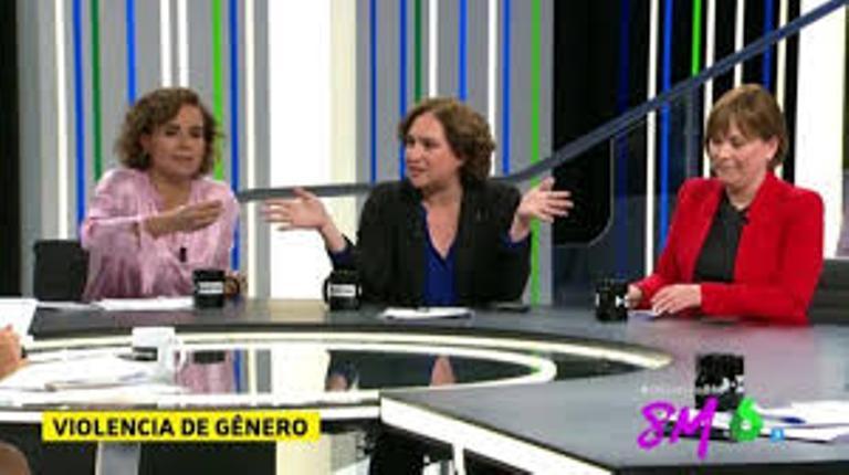 Bronca entre Dolors Montserrat y Ada Colau debido al comentario machista de Pablo Iglesias
