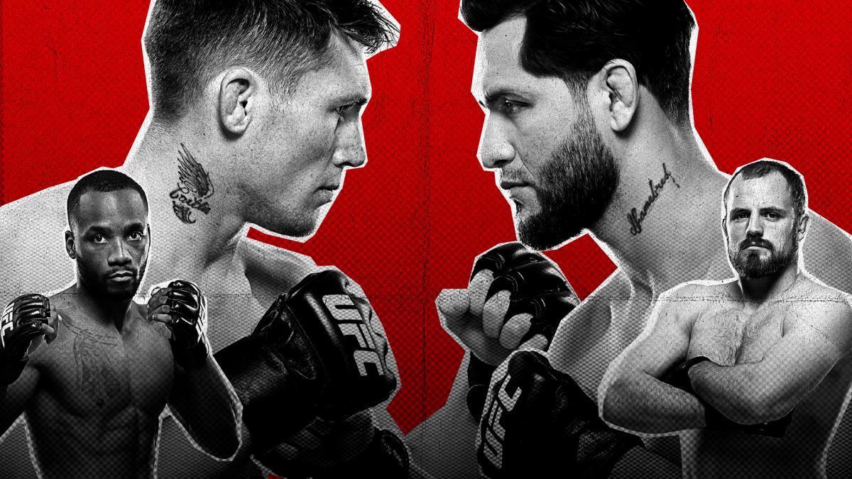 Darren Till y Jorge Masvidal se enfrentarán en el UFC Fight Night de Londres