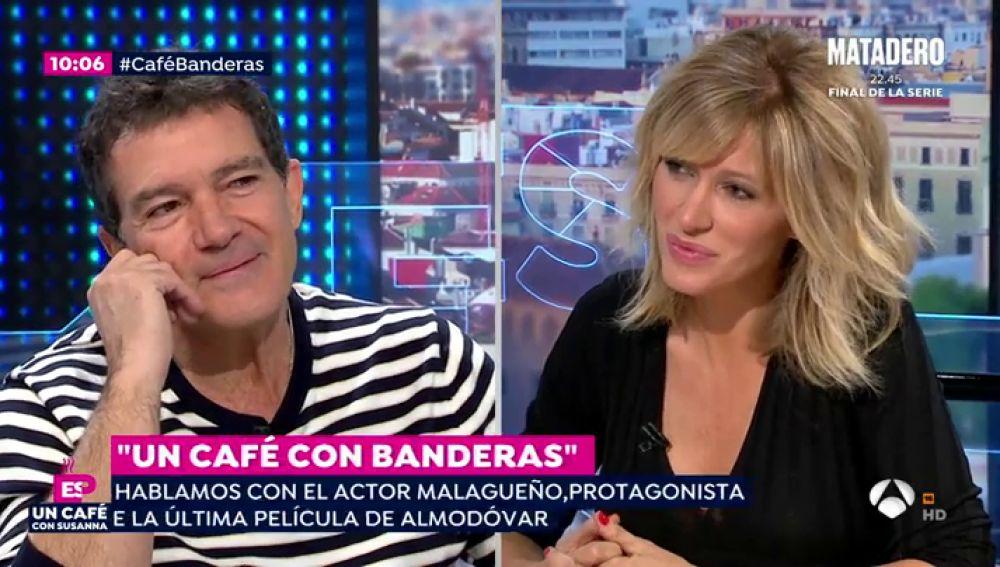Las redes comentan la respuesta de Antonio Banderas sobre la exhumación de Franco
