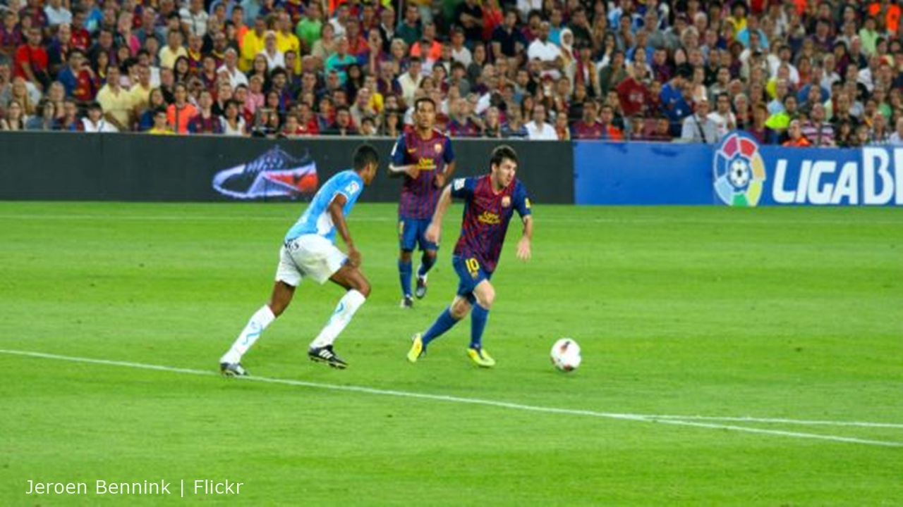 Lionel Messi scores a hat-trick in win over Real Betis