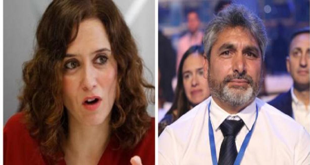 Juan José Cortés intenta ligar con Díaz Ayuso y ella reacciona delante de cámaras