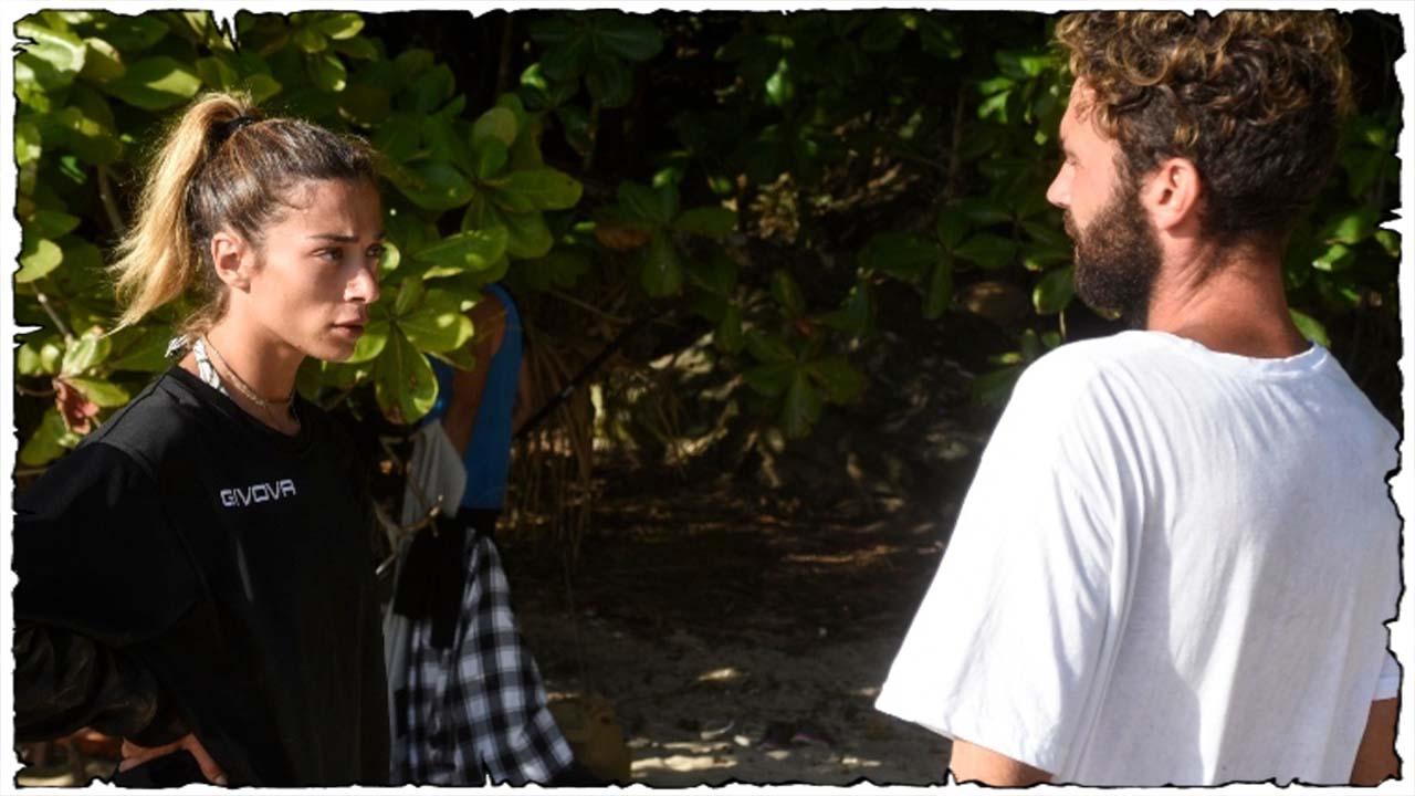Isola dei famosi-Il furto del cocco, Soleil provoca Vismara: 'Vuoi venire a controllare?'