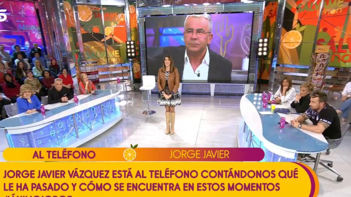 Jorge Javier Vázquez informa que ha sufrido un ictus y una operación de urgencia