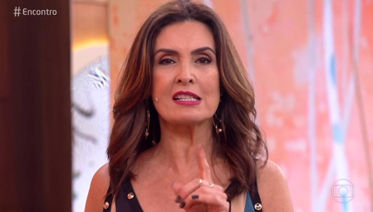 Fátima Bernardes fala sobre casamento com Bonner ao discutir sobre 'família tradicional'