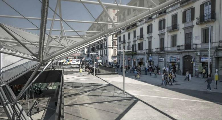 Napoli, piazza Garibaldi si rifà il look: alberi, giochi e wi-fi gratuito