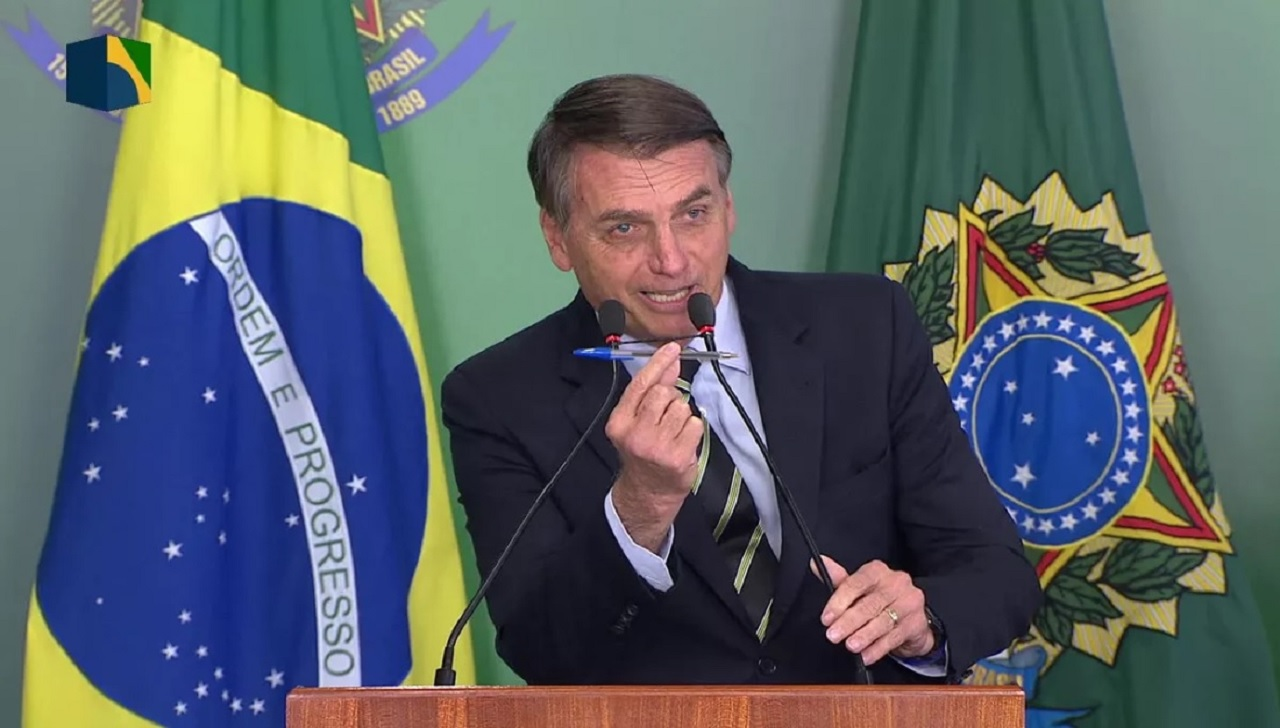 Desde que Bolsonaro tomou posse a aprovação do seu governo caiu 15 pontos