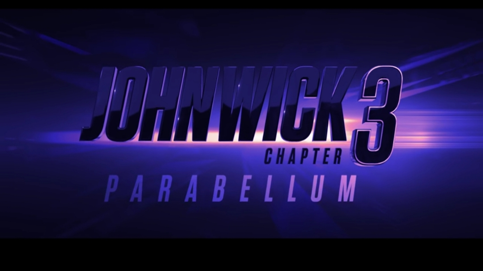 Movie Trailer for John Wick Chapter 3: Parabellum