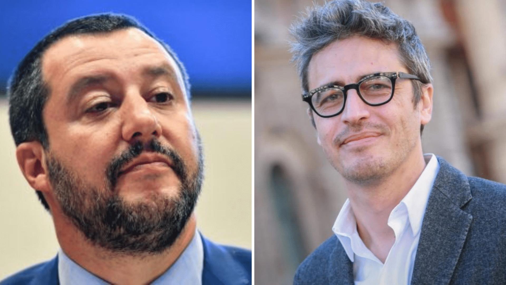 Palermo, Pif attacca Salvini sulla cittadinanza a Ramy