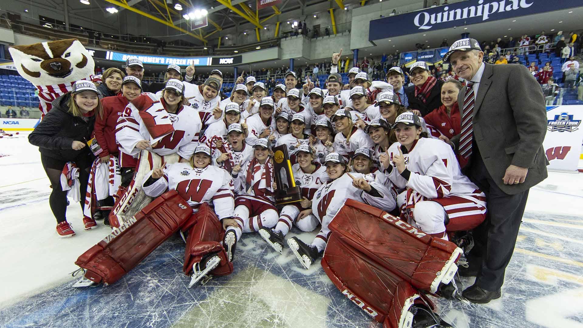Wisconsin Badgers win their fifth NCAA women's hockey championship
