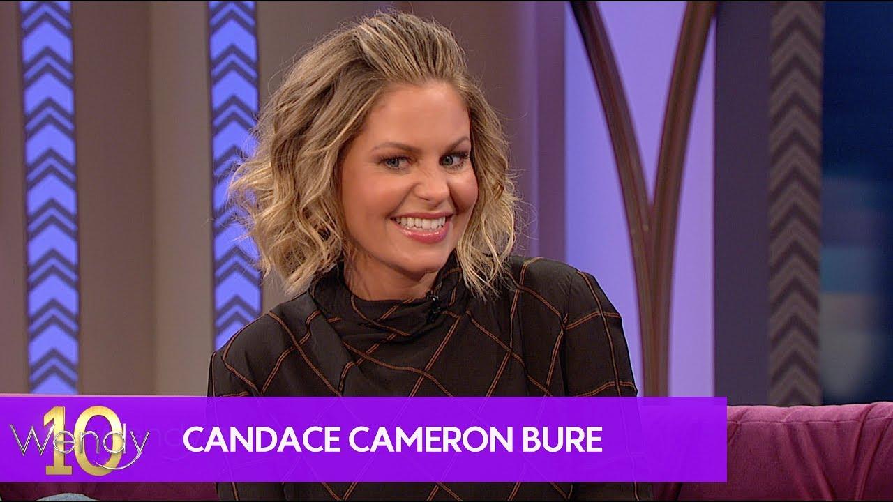 Candace Cameron Bure talks forgiveness during Kids Choice Awards