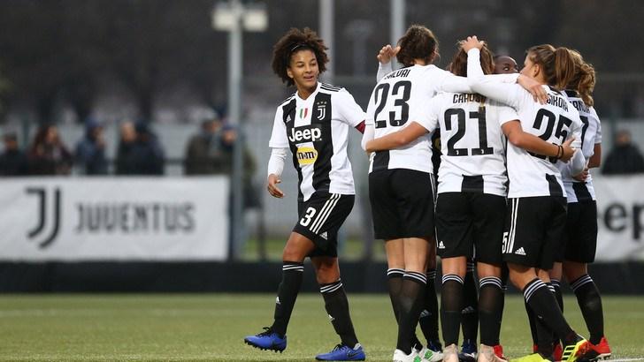 Calcio femminile: Juventus-Fiorentina decisa da un gol di Pedersen