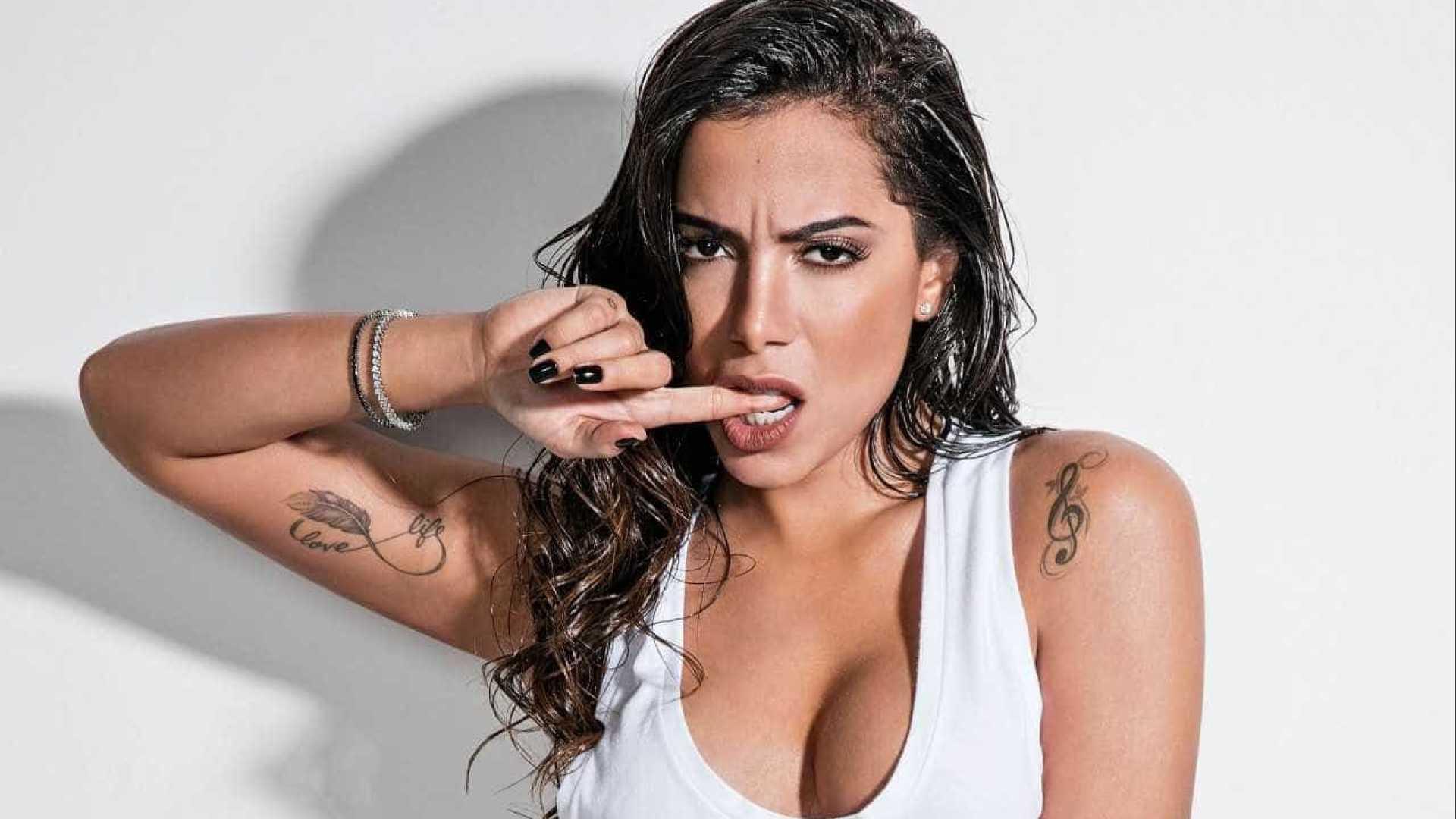Cantora expõe promessa feita por Anitta durante o 'Mais Você'