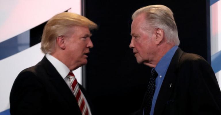 Jon Voight, el padre de Angelina Jolie, acepta un cargo público en el gobierno Trump