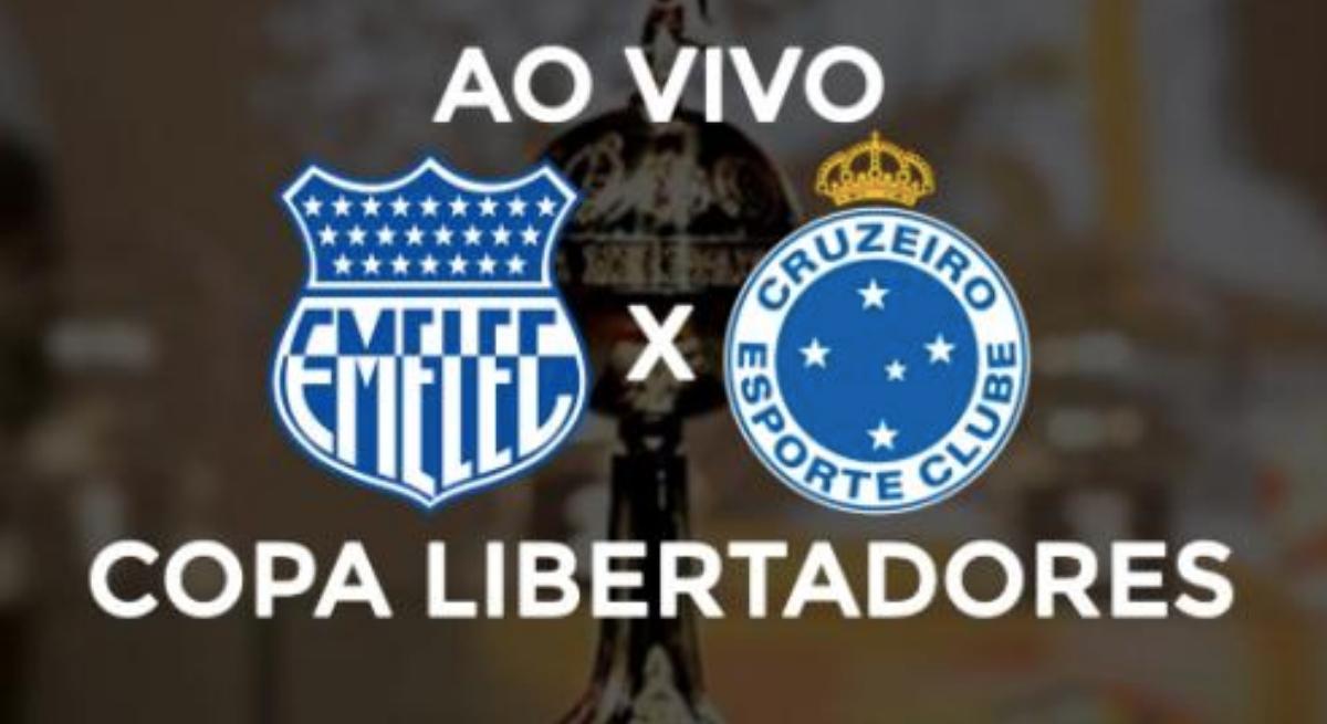 Emelec x Cruzeiro: transmissão pela Rede Globo, nesta quarta (3), a partir das 21h30