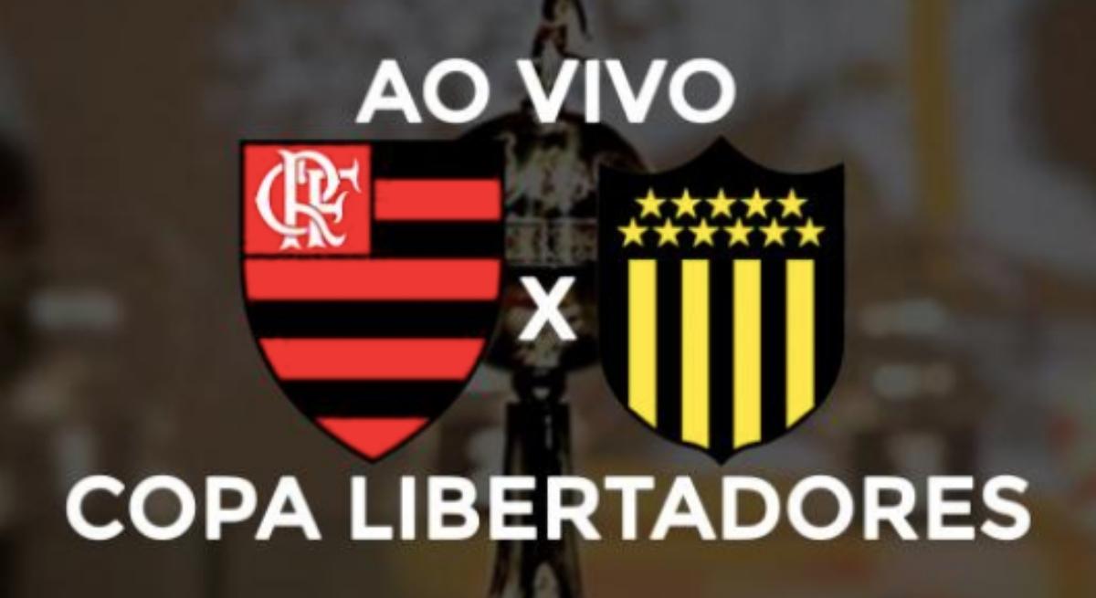 Flamengo x Peñarol: partida terá transmissão pela TV e internet nesta quarta, às 21h30