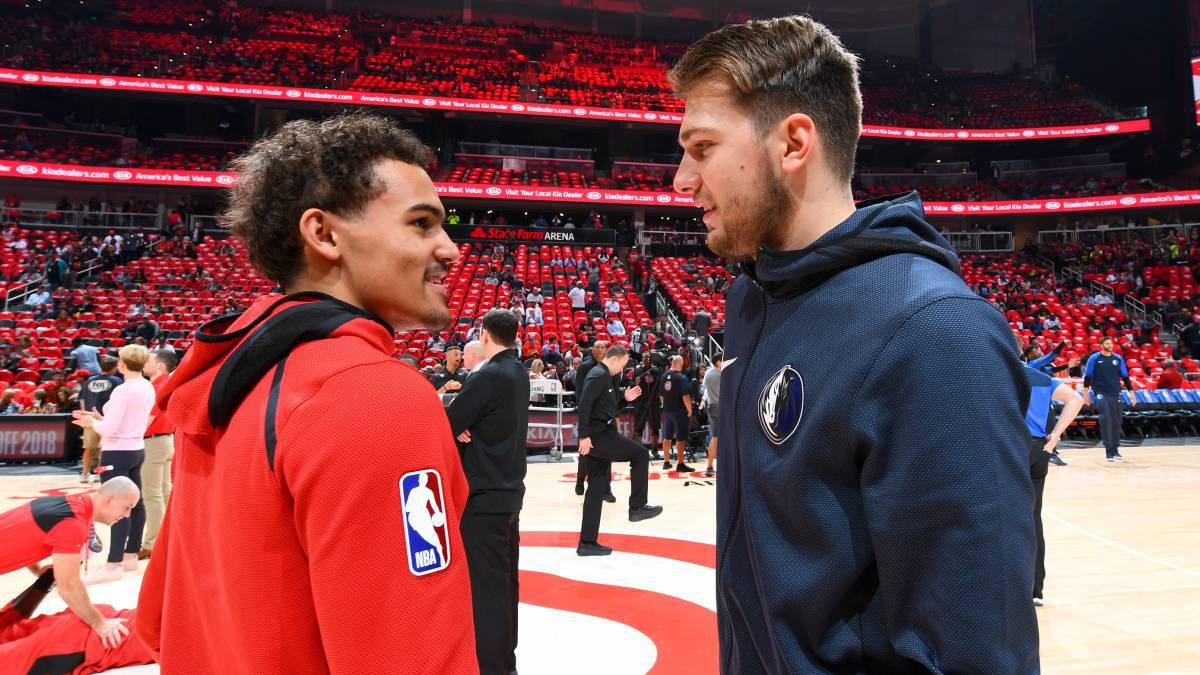 Doncic y Young: la pelea por el rookie del año en la NBA