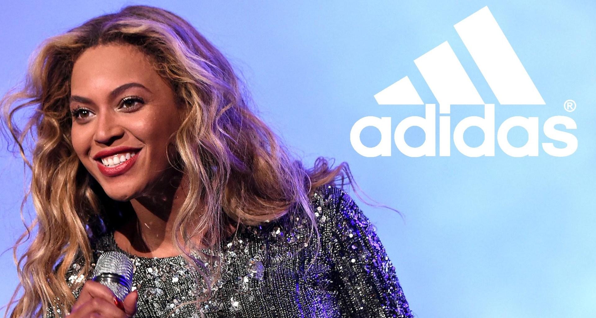 Beyonce rejoint la famille Adidas