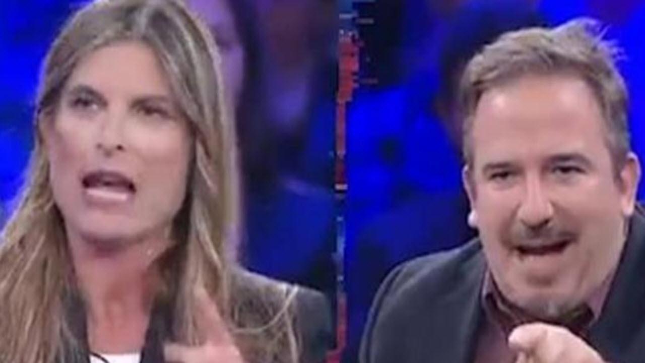 'Non è l'arena', testa a testa tra Laura Rovetto e Luca Telese sul tema pensioni