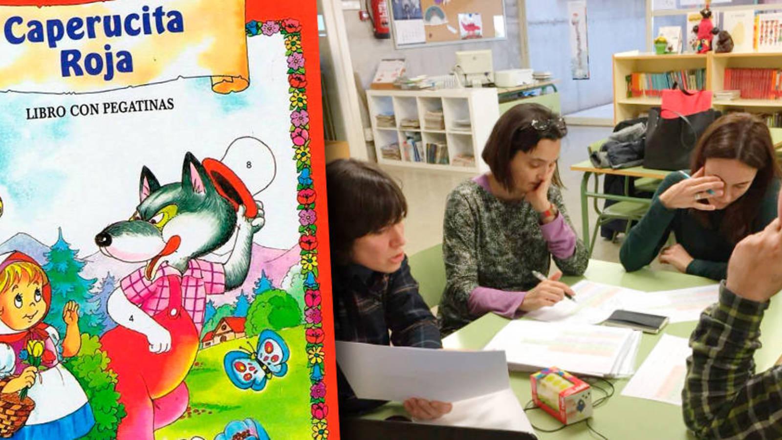 Censurados 'Caperucita Roja' y 200 cuentos sexistas en una escuela pública de Barcelona