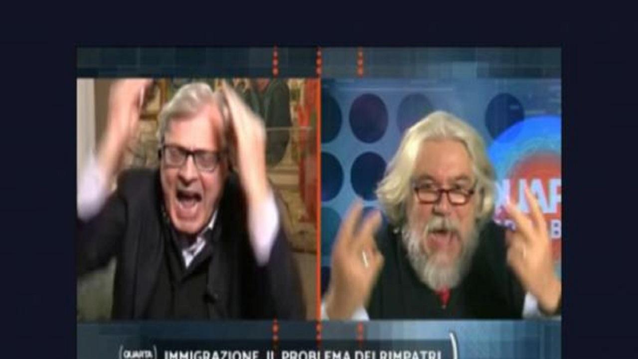 Notre-Dame, scontro Meluzzi-Sgarbi: il critico d'arte si infuria 'Ma quale attentato'