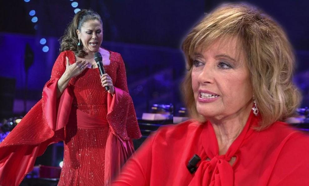 María Teresa Campos responde airada que a ella no le importa lo que haga Isabel Pantoja
