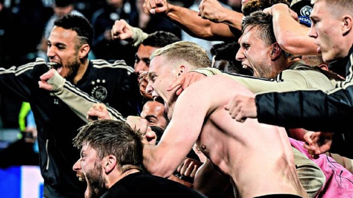 5 stats folles de la victoire de l'Ajax