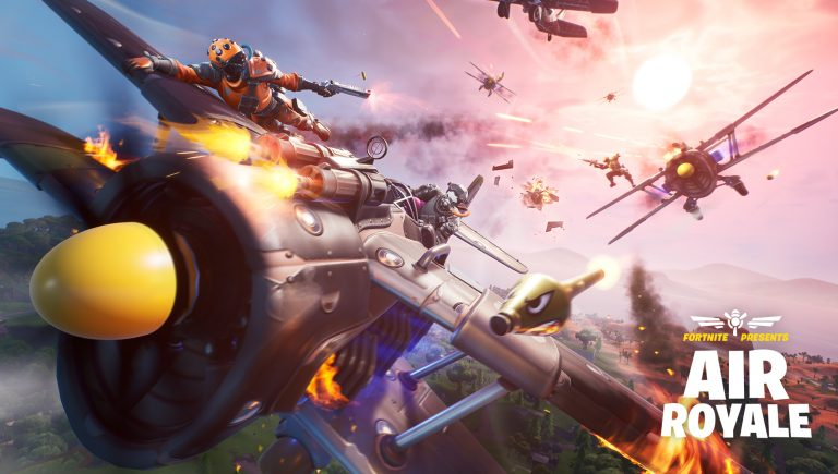 'Fortnite' Patch 8.40 Includes the Air Royale LTM, Food Fight – Deep Fried LTM