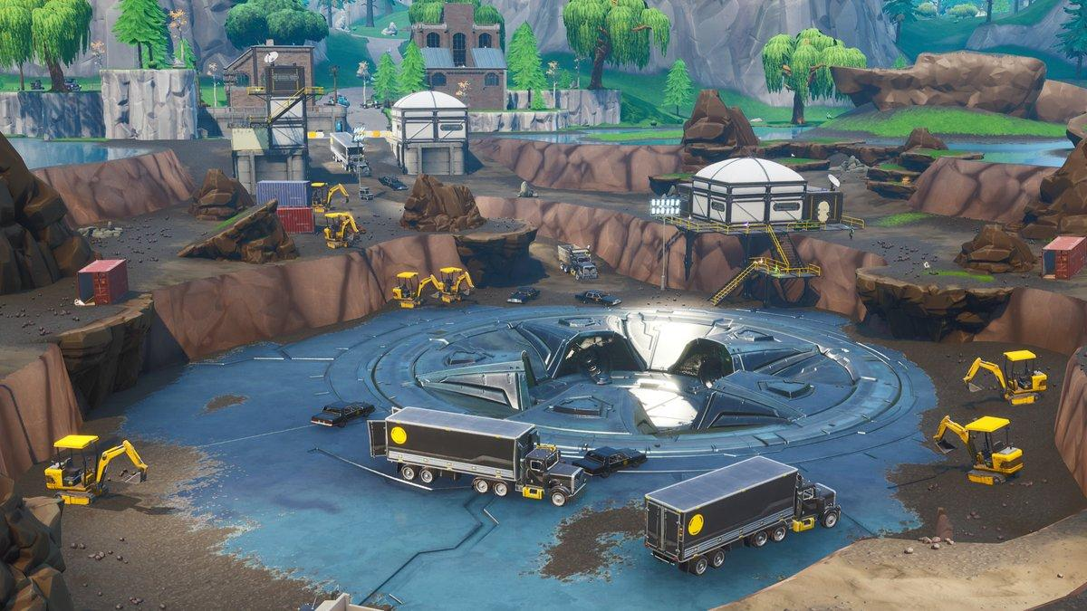Fortnite has received major map changes with the v8.40 update