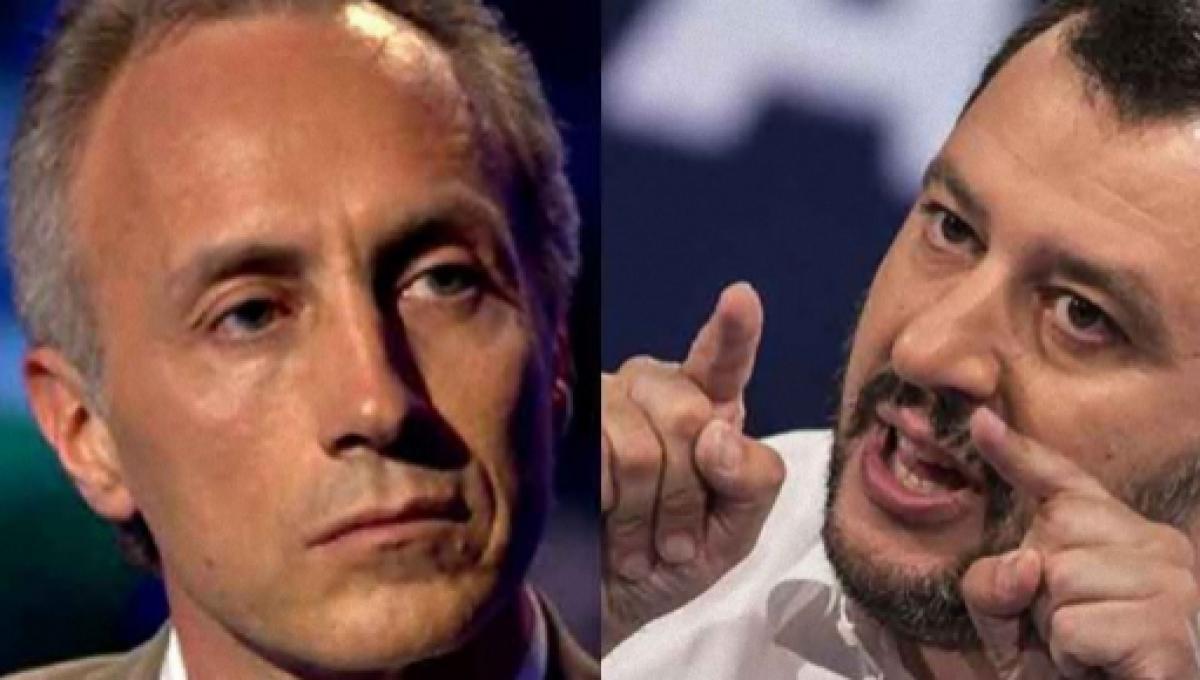 Caso Siri, Marco Travaglio 'punge' il vicepremier Matteo Salvini