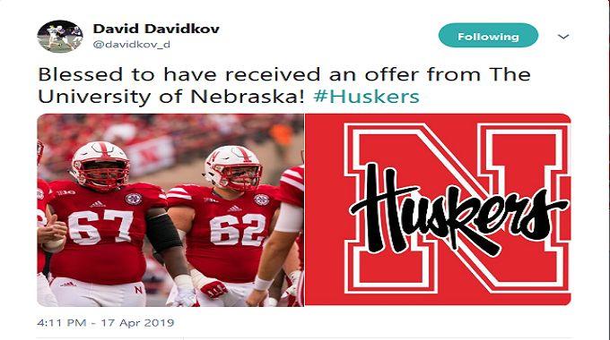 Nebraska football going after talented offensive lineman