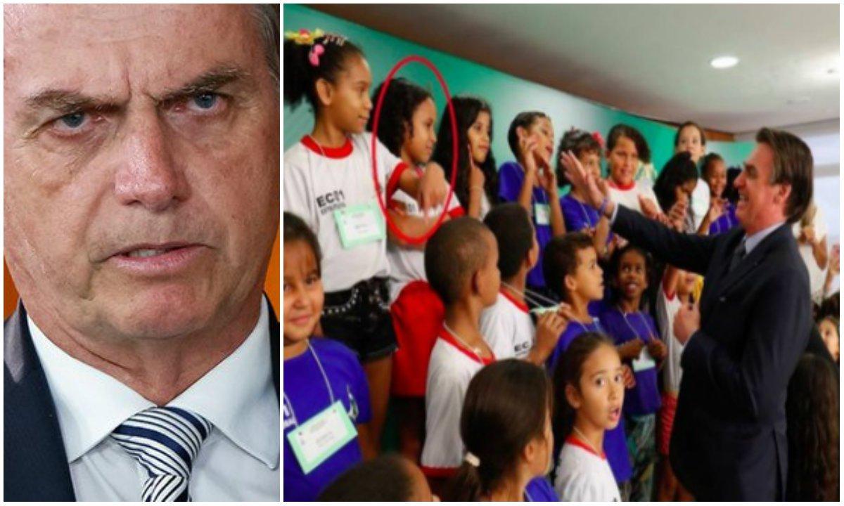 Portal corrige notícia equivocada sobre criança que não cumprimentou Bolsonaro