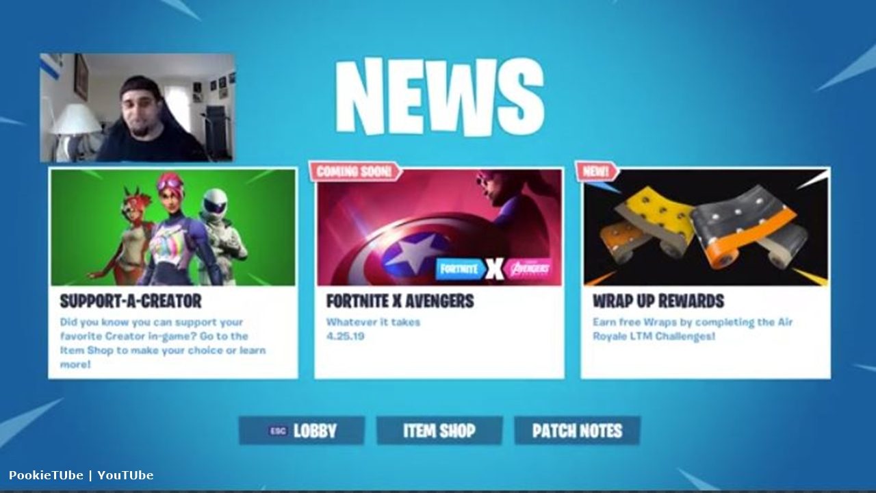 Fortnite-Avengers crossover's coming to the game on April 25