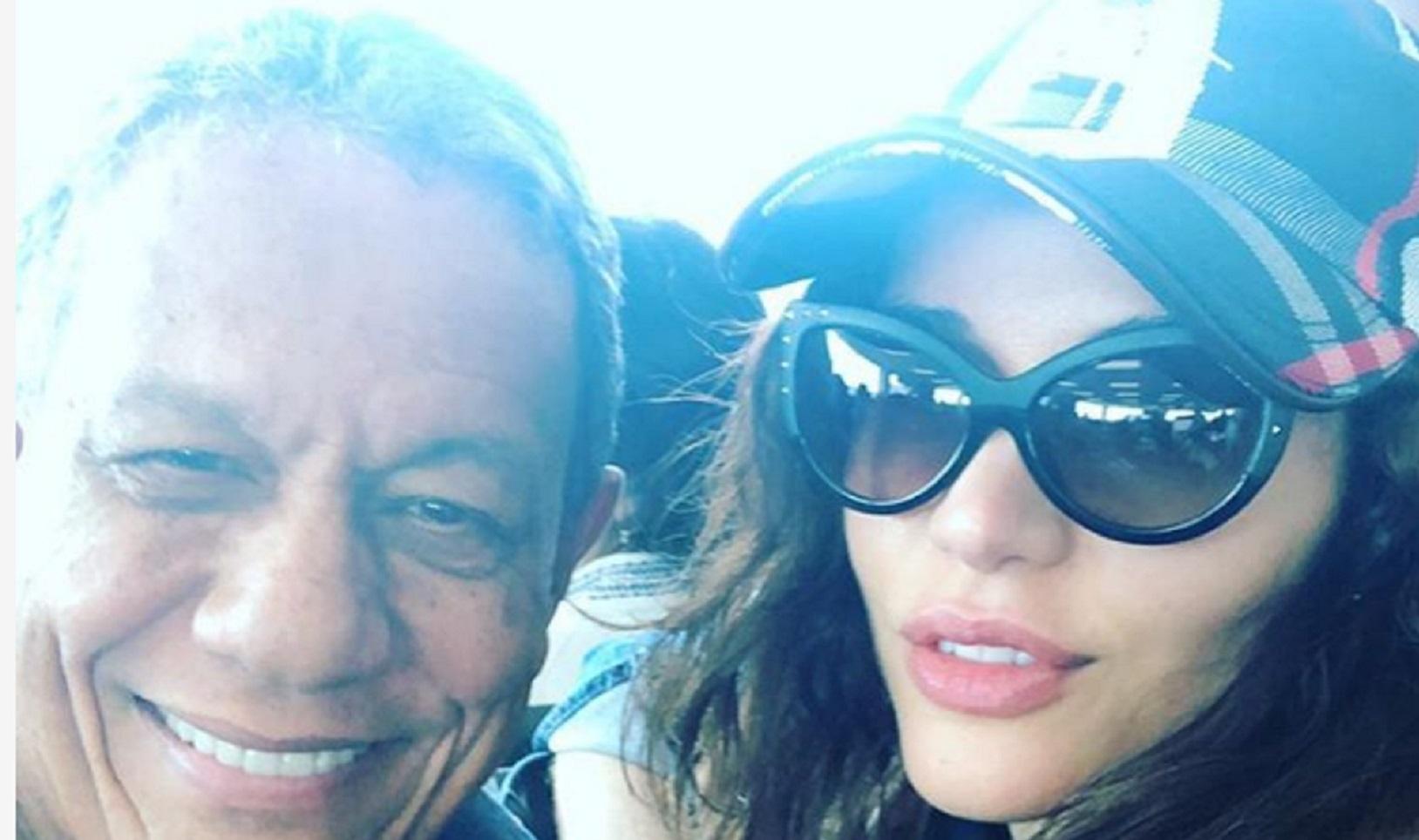 Ex-BBB Maria Melilo é detonada após postar foto do namorado milionário de 75 anos