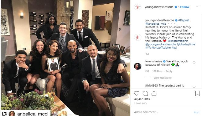 Kristoff St. John is getting a special episode on Y&R