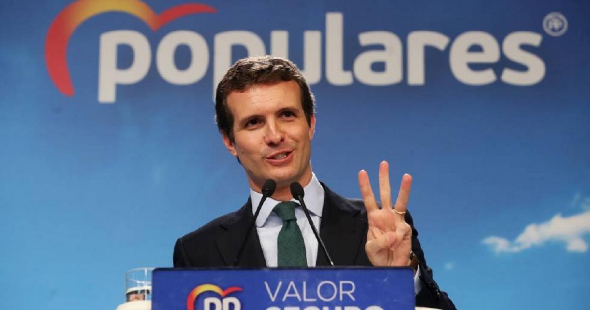 Vox es ahora ultraderecha para Casado y dice que Abascal vive de los 'chiringuitos' del PP