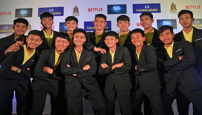 Netflix Will Make a Film About Thailand's Rescued Cave Boys