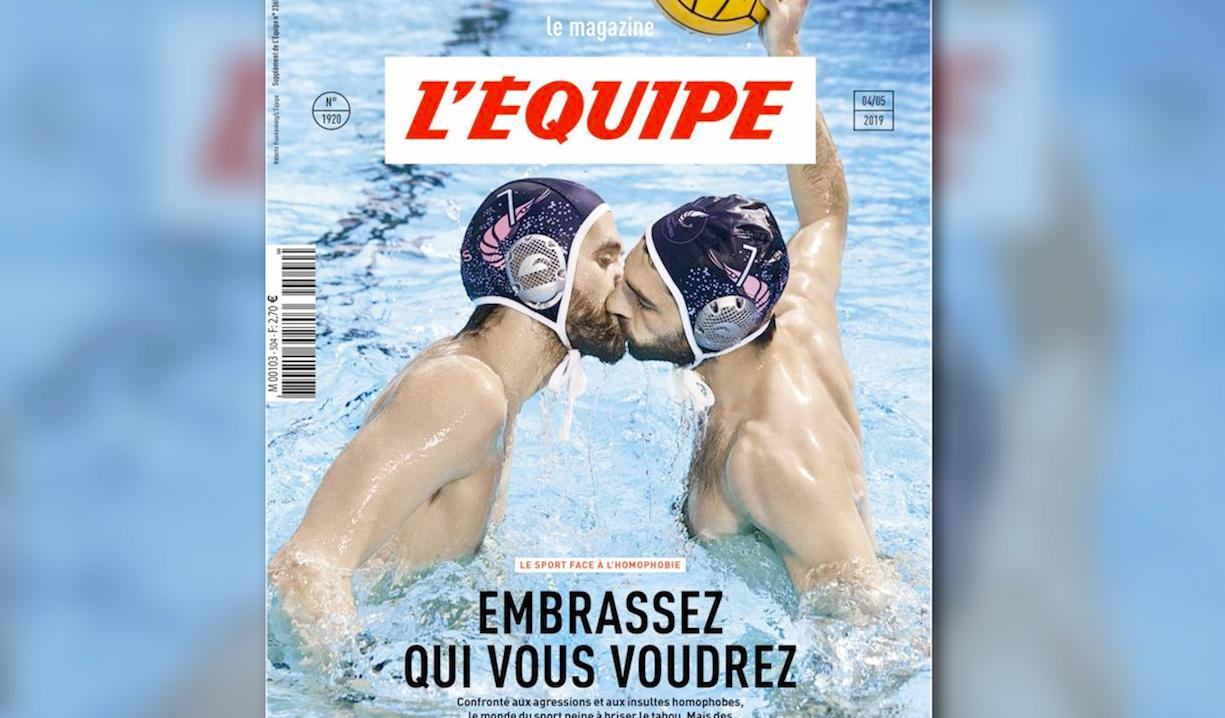 Revista esportiva francesa levanta debate sobre homossexualidade no esporte
