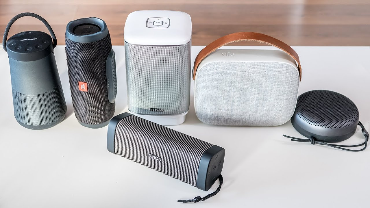 5 great bluetooth speakers available at a reasonable price