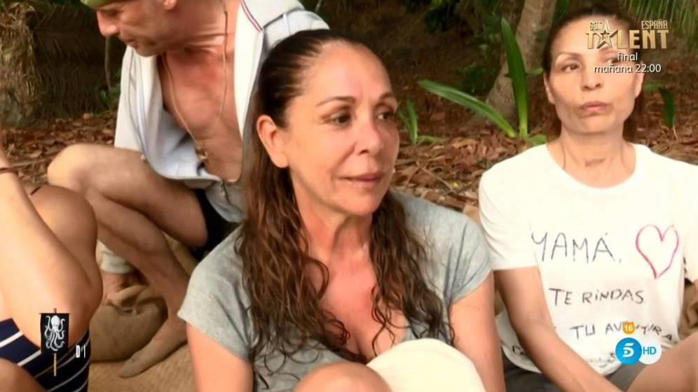 Isabel Pantoja podría abandonar 'Supervivientes' tras una bronca con Carlos Lozano