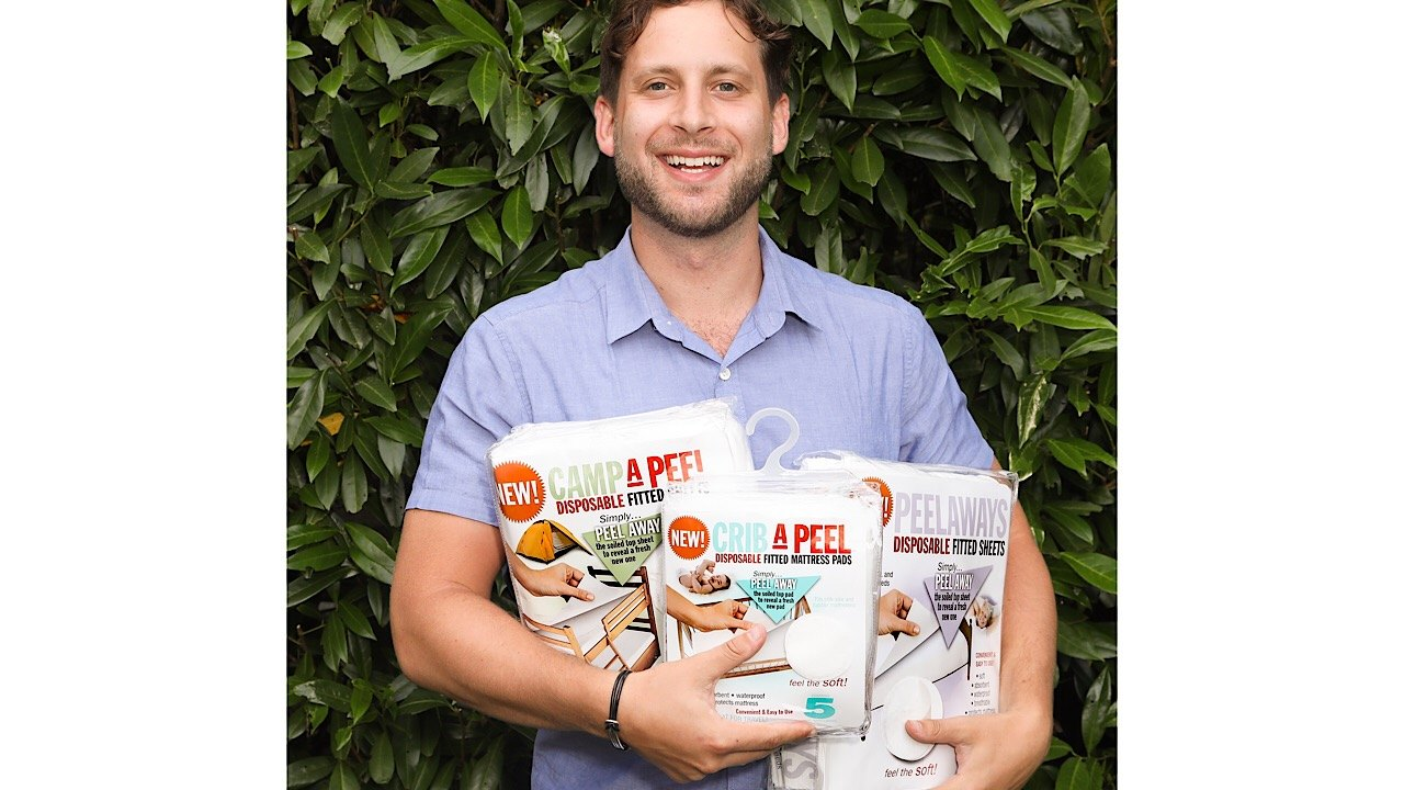 Interview with inventor Maxwell Cohen of Peel Away Labs