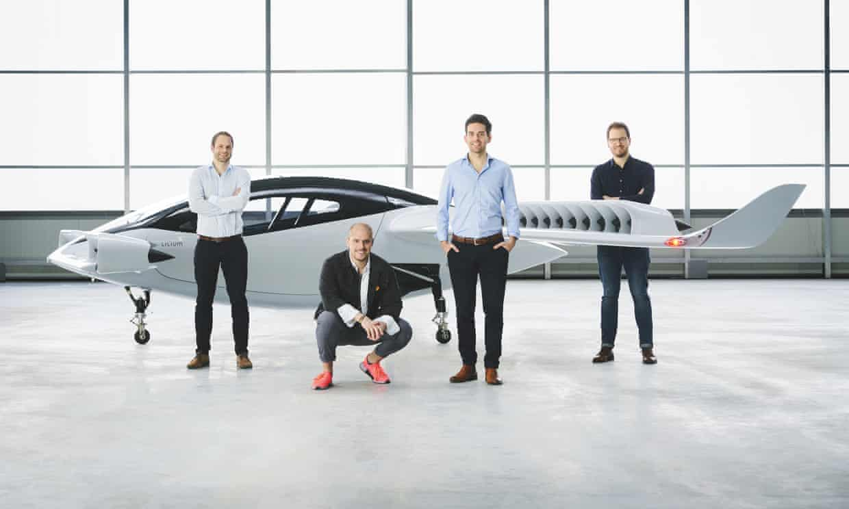 Electric 'flying taxi' prototype unveiled by German start-up