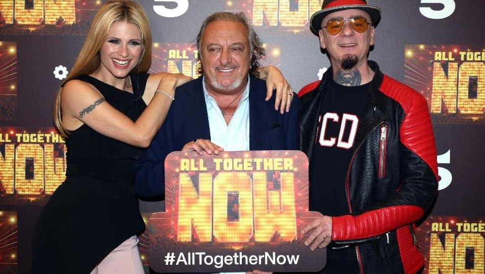 All Together Now: debutto per Michelle Hunziker e J-Ax con un nuovo game show