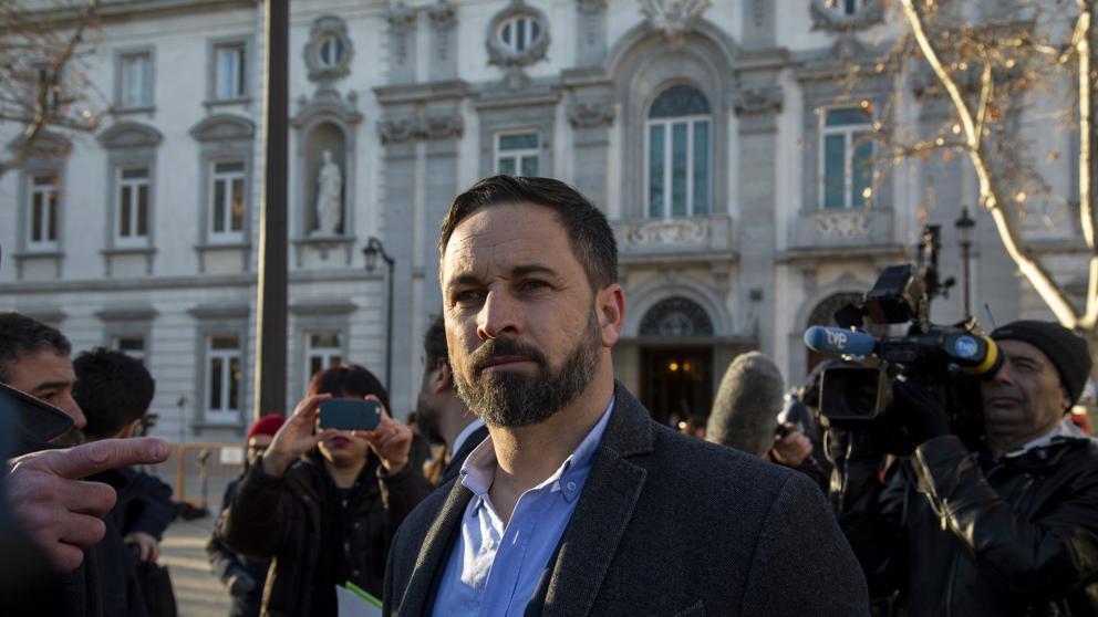 Santiago Abascal quiere que por sus intenciones 'golpistas' Quim Torra sea detenido
