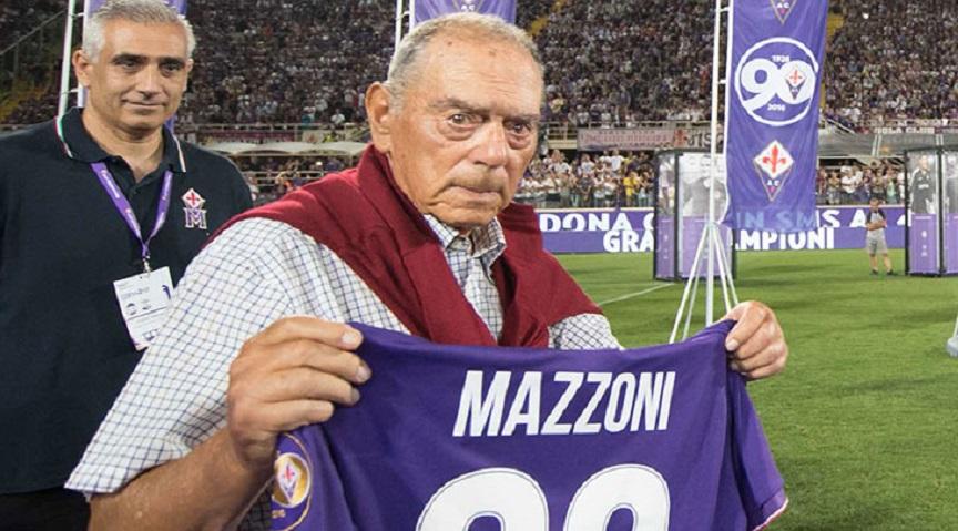 Fiorentina in lutto, addio a Mario Mazzoni