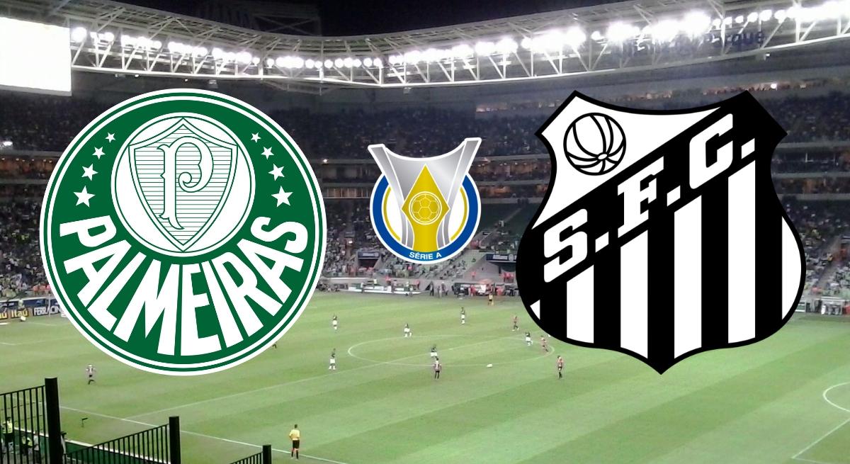 Palmeiras x Santos: transmissão ao vivo neste sábado (18), às 19h